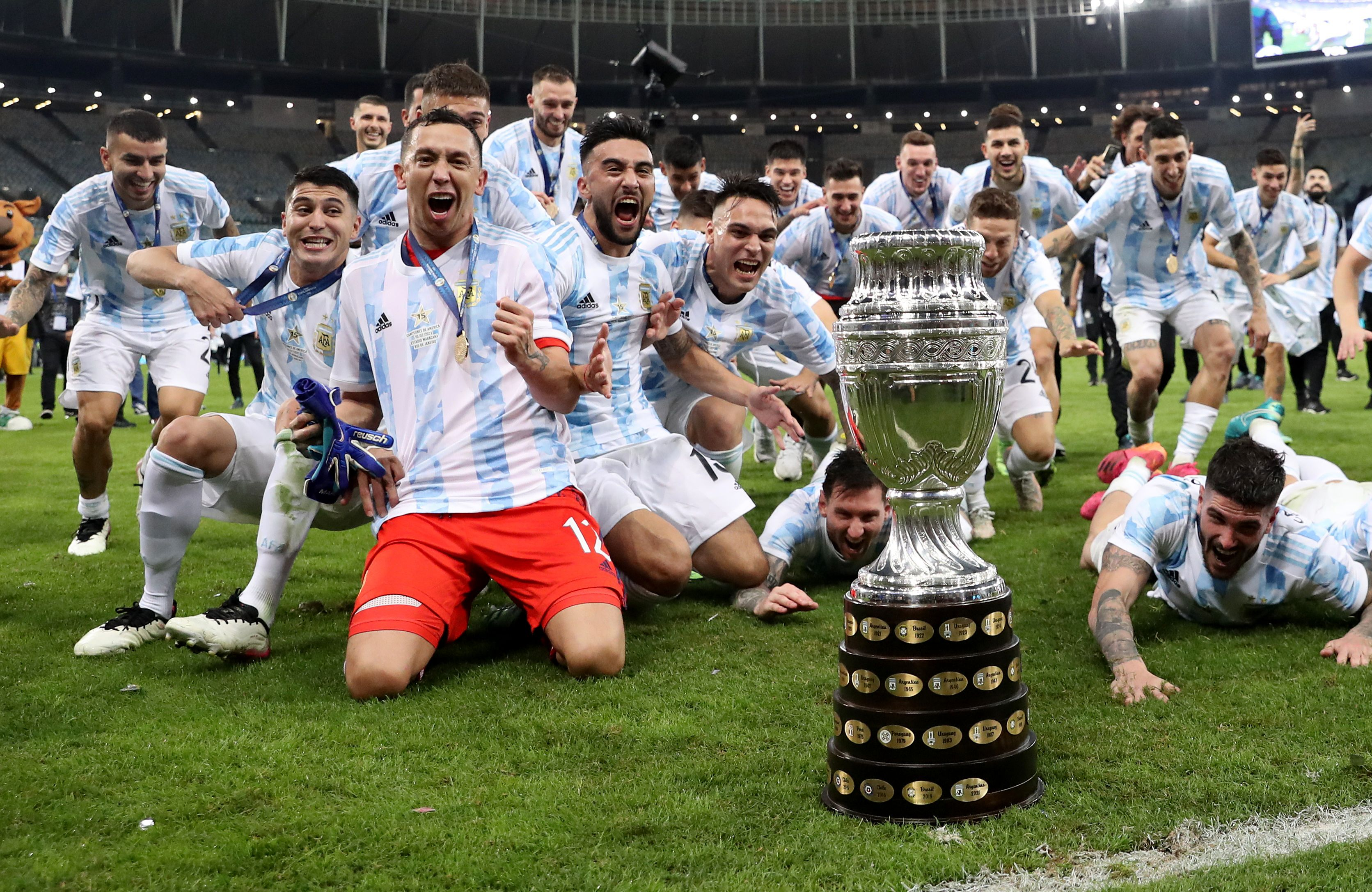 Argentina beat Brazil 1-0 to win Copa America, 1st major title in 28 yrs    Reuters