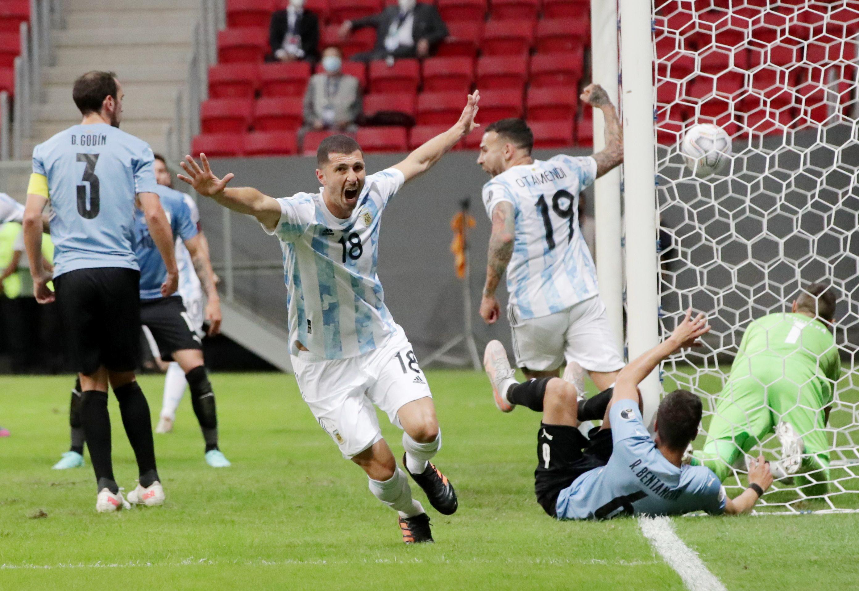 Argentina predicted lineup vs Paraguay