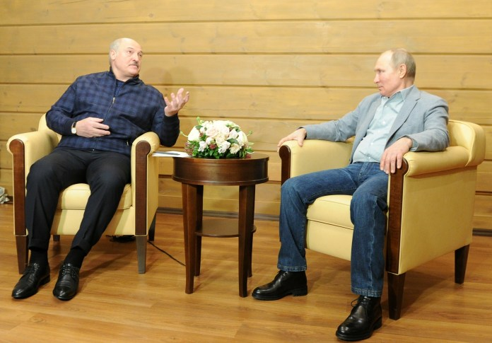 Russia and Belarus detain two Lukashenko critics, one a dual US citizen    Reuters