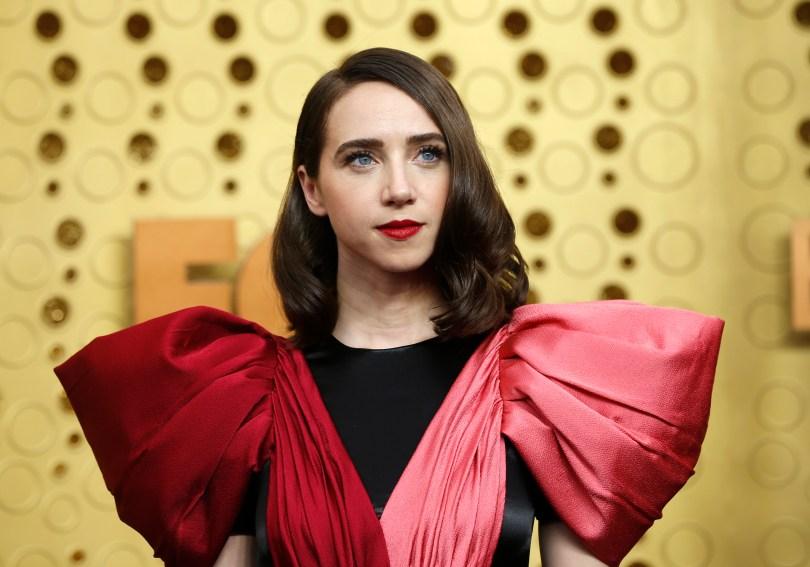 71st Primetime Emmy Awards - Arrivals - Los Angeles, California, U.S., September 22, 2019. Zoe Kazan. REUTERS/Mario Anzuoni