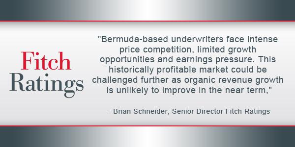 Fitch: Excess Capital Affects Reinsurer Profits - Bernews