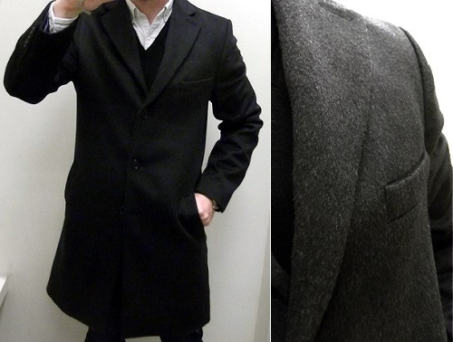 JCP Stafford Wool Blend Topcoat