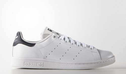 Adidas Stan Smith White & Navy Sneakers