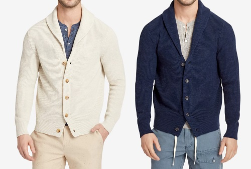 Bonobos Cotton Linen Shawl Cardigan