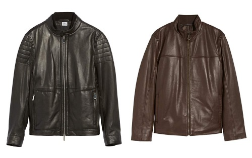 Boss & Cole Haan Leather Jackets