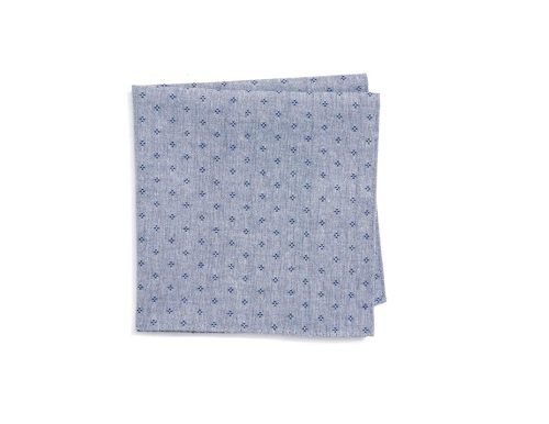 Nordstrom Rulli Dot Cotton Pocket Square