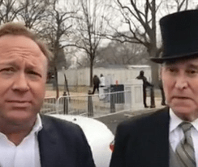 Alex Jones Reads Angry Text From Roger Stones Lawyer You Almost