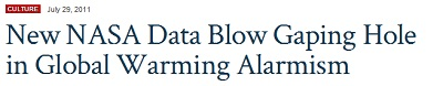 Fox Nation: New NASA Data Blow Gaping Hole in Global Warming Alarmism
