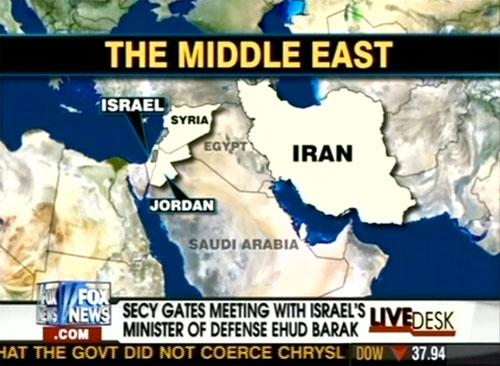 Het Midden-Oosten volgens Fox News