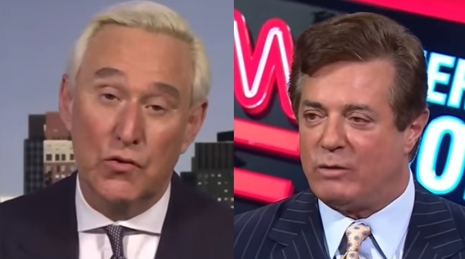 Image result for photos of roger stone and putin