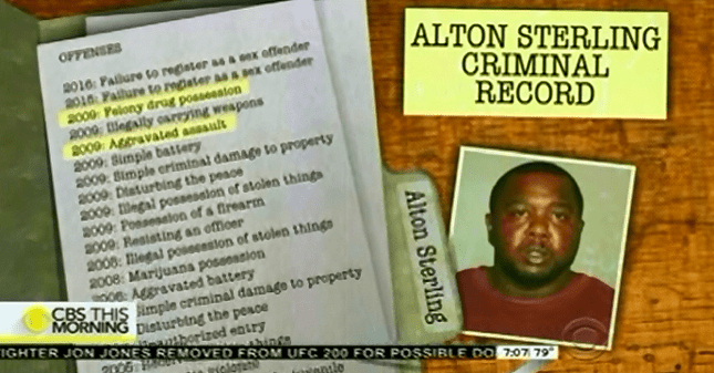 CBS Report On Police Shooting Of Alton Sterling