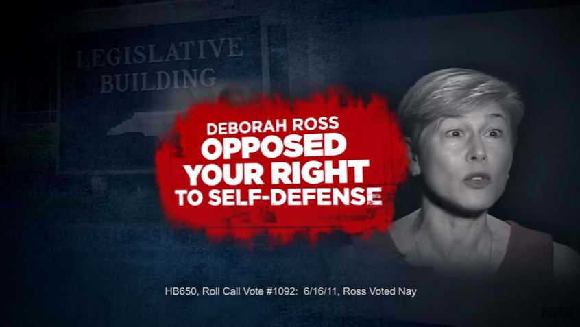 Nra Claims Nc Sen Candidate Quot Opposed Your Right To Self