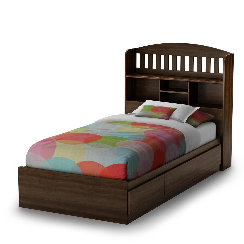 Twin bed bookcase headboard plans plant02eol for Make a twin headboard