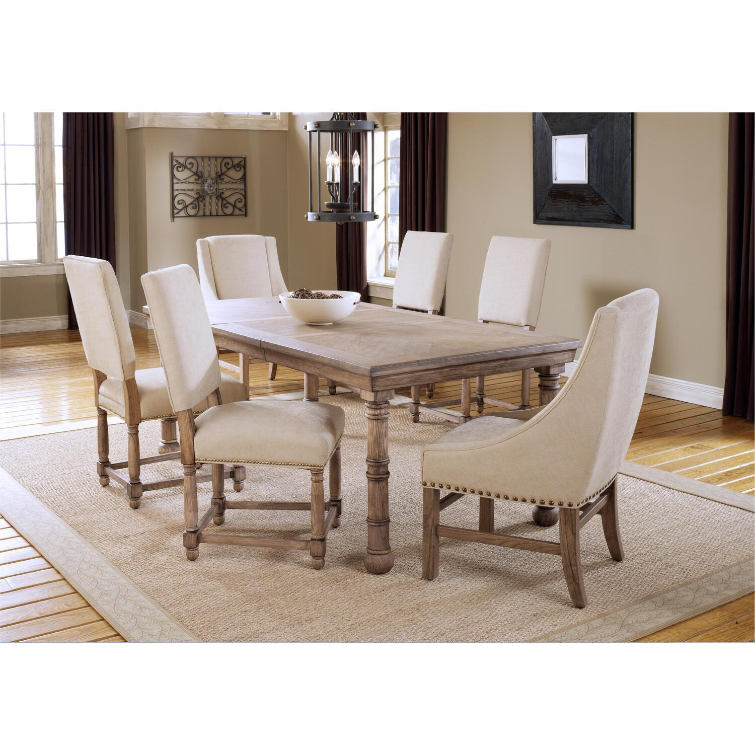 Hillsdale Furniture Hartland 7 Piece Dining Set Table 4