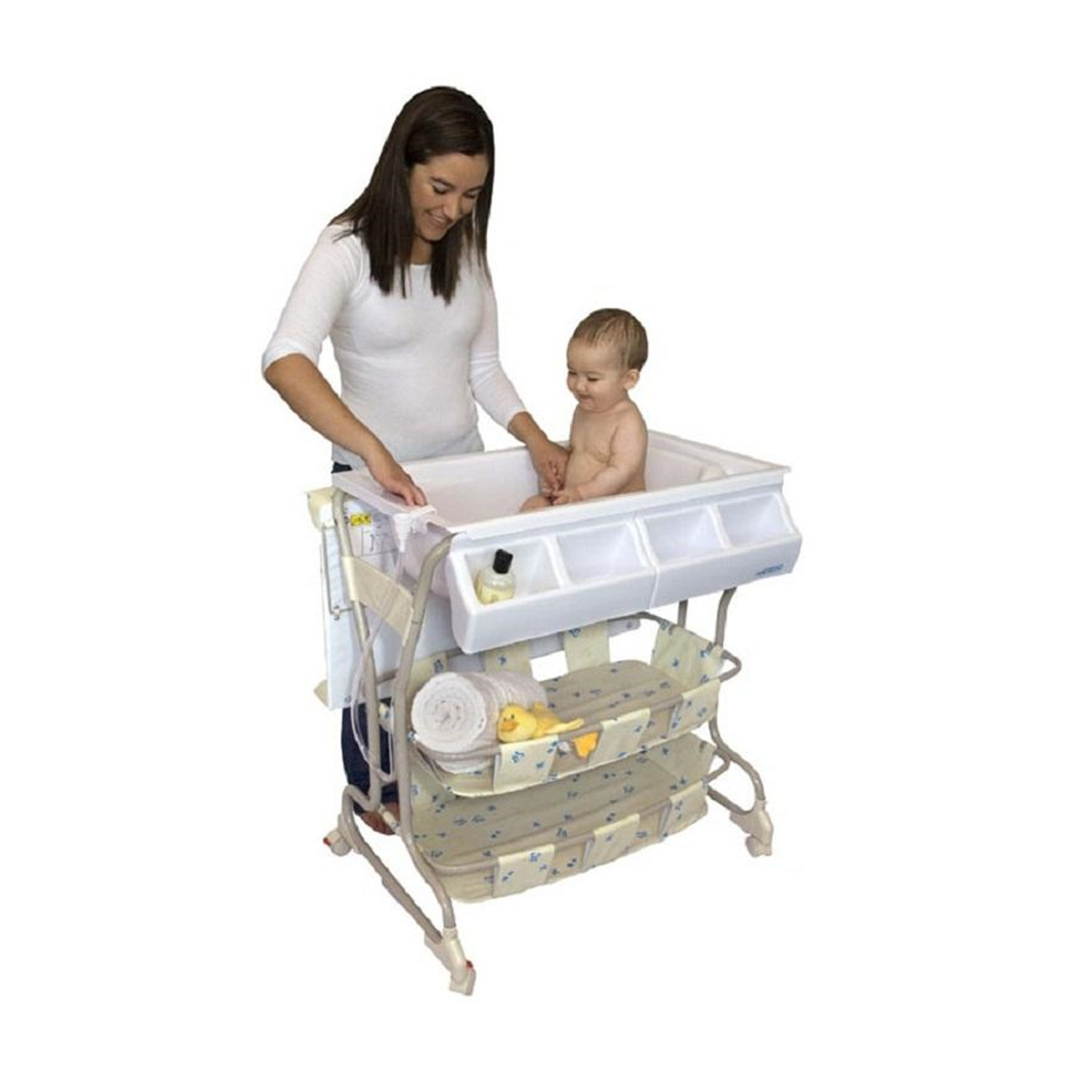 Baby Diego Bath Amp Changer Combo Deluxe By OJ Commerce 130
