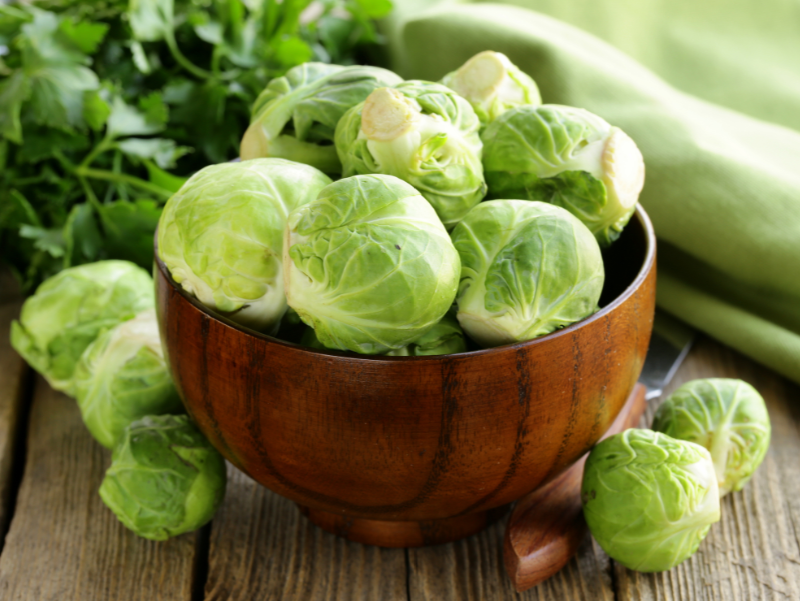 Brussels sprouts for Christmas weight loss