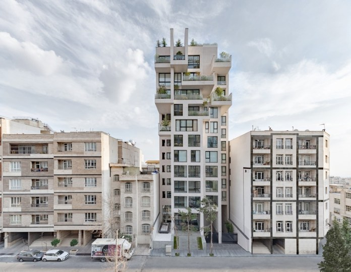 Press kit   661-54 - Press release   World Architecture Festival 2019 – Day One Winner of International Architectural Awards Announced - World Architecture Festival (WAF) - Competition - Cedrus Residential by Nextoffice - Photo credit: Majid Jahangiri