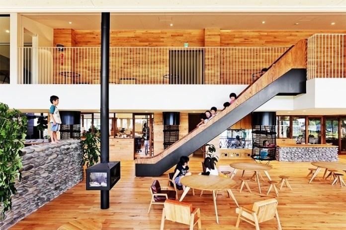 Press kit   661-54 - Press release   World Architecture Festival 2019 – Day One Winner of International Architectural Awards Announced - World Architecture Festival (WAF) - Competition - YM Nursery by HIBINOSEKKEI + Youji no Shiro + KIDS DESIGN LABO - Photo credit: studio BAUHAUS