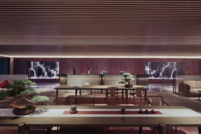 Press kit   3531-02 - Press release   Joya Hotel Hangzhou - Vermilion Zhou - Commercial Interior Design - Lobby - Photo credit: Yunpu Cai<span></span>
