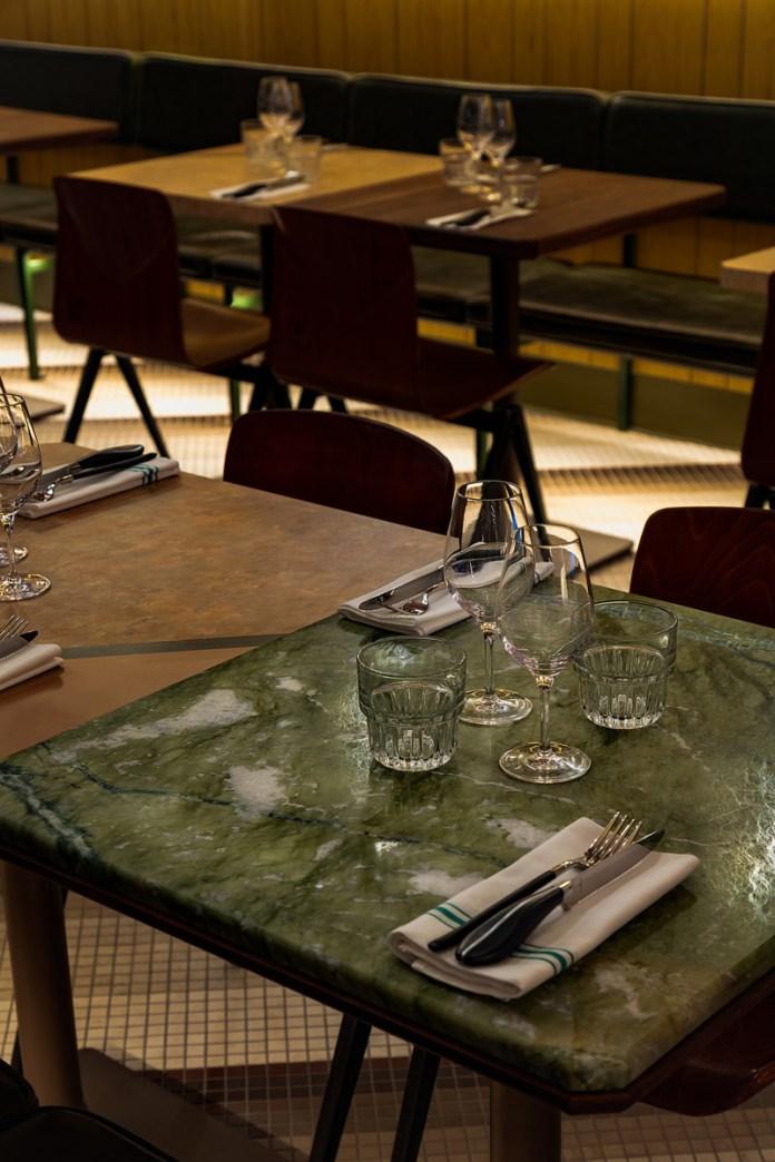 Press kit | 1301-03 - Press release | A slice of nostalgia: Atelier Zébulon Perron delivers a 'modern retro' interpretation - Atelier Zébulon Perron - Commercial Interior Design - Photo credit: Jean-Sébastien Senécal