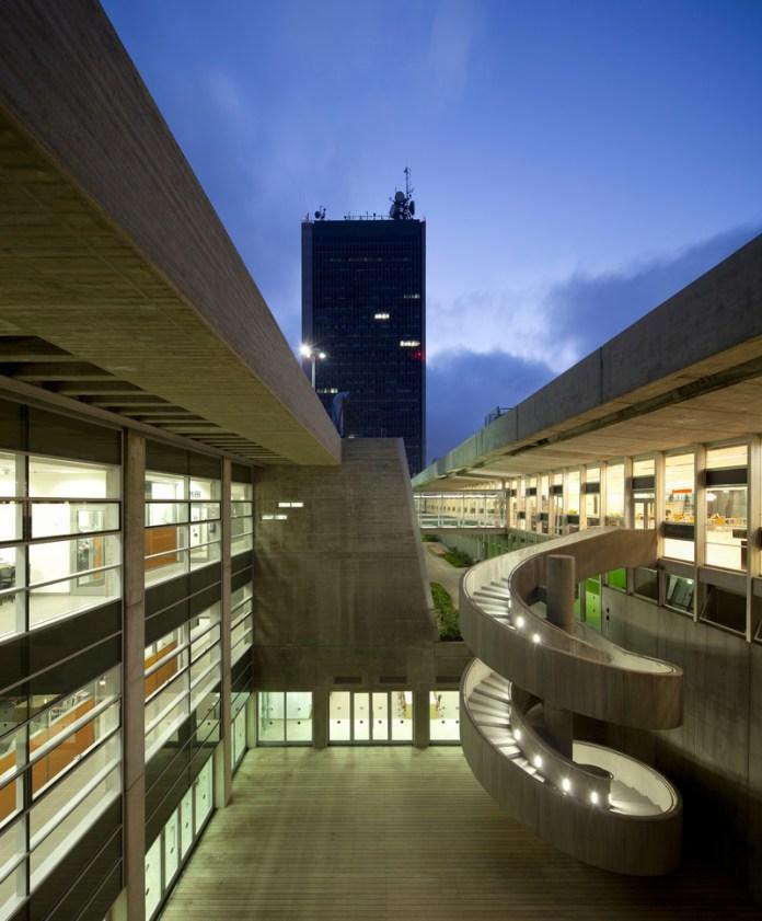 Press kit | 5296-03 - Press release | Younes & Sorarya Nazarian Library, Haifa University - A.Lerman Architects Ltd. - Institutional Architecture - Photo credit: Amit Geron