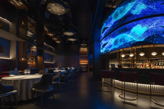 Press kit | 5588-02 - Press release | XU JI Seafood Restaurant (Land Kylin) - Daxiang Design Studio - Commercial Interior Design - A mirror image of public space - Photo credit: ©️Chuan He