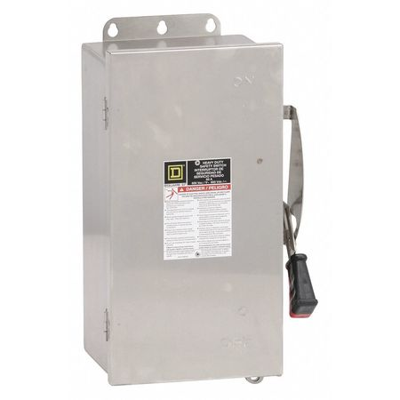 Square D By Schneider Electric Hu362ds 60 Amp 600vac