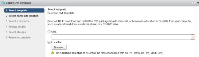 Into the Lab - This version of vCenter Server does not support ...
