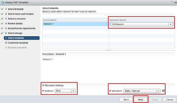 vSphere HTML5 Web Client Fling - Network
