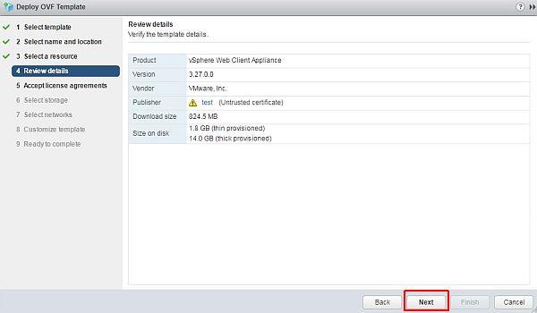 vSphere HTML5 Web Client Fling - Review Details