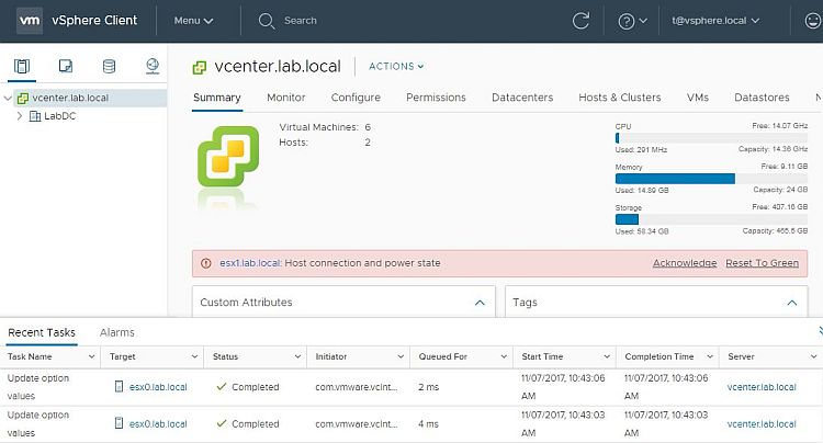 How to Install vSphere HTML5 Web Client Fling > CloudHat eu