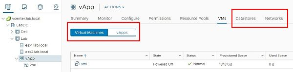 vSphere HTML5 Web Client Fling v3.32 - Tabs Improvements