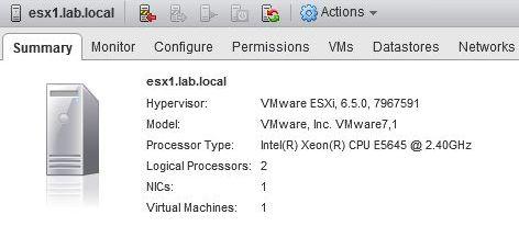 ESXi 6.5 build 7967591