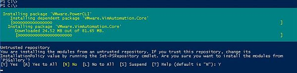 Update to PowerCLI 10.0.0
