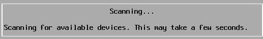 Install vSphere 6.7 - Scanning