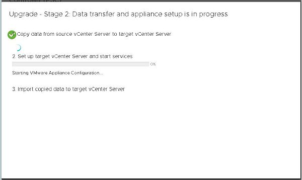 Upgrade vCenter Server Appliance from 6.5 to 6.7 - Setup Target vCenter
