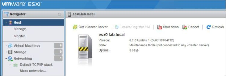 How to Upgrade ESXi from 6.5 to 6.7 with Command Line