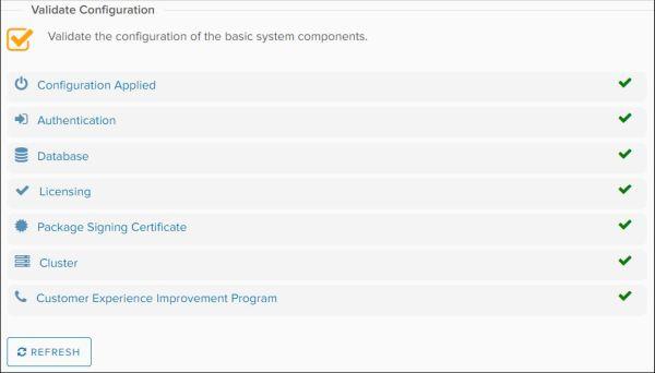 Configure vRealize Orchestrator - Validate Configuration OK