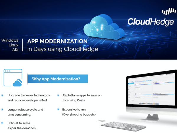 App Modernization using CloudHedge
