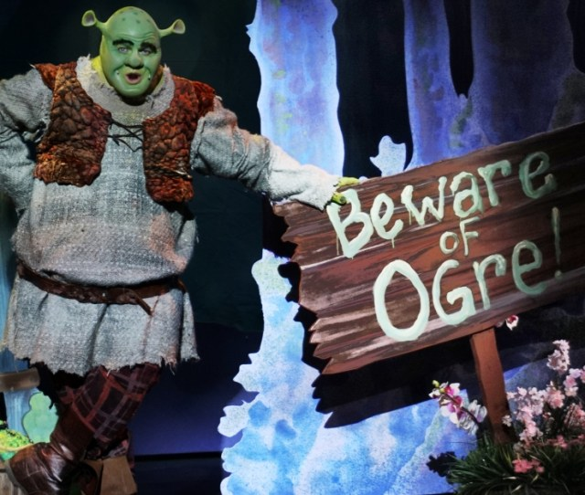 Slow Burn Theatre Companys Shrek The Musical Is An Ogre Ific