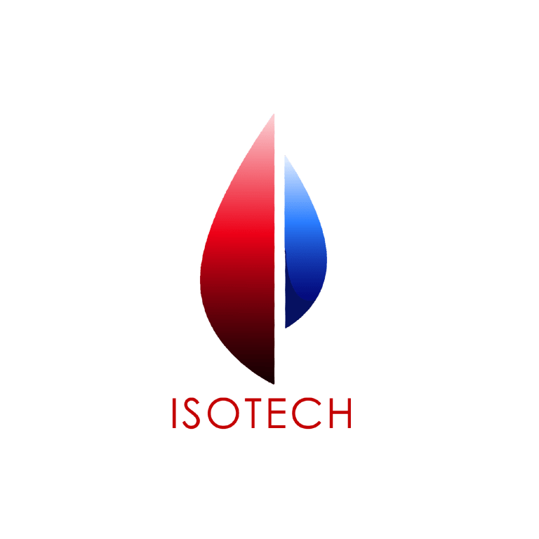 isotech logo web design cloudix digital