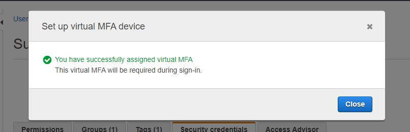 How to Enable Multi-Factor Authentication (MFA) on AWS 6