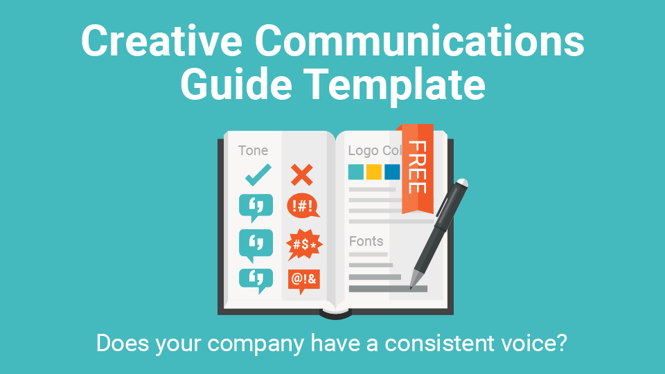 Creative Communications Guide Template For Startups
