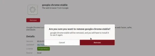 Remove-Google-chrome