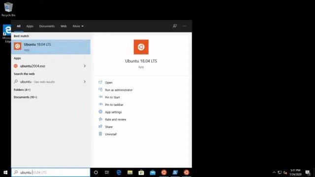 launch-linux-windows10