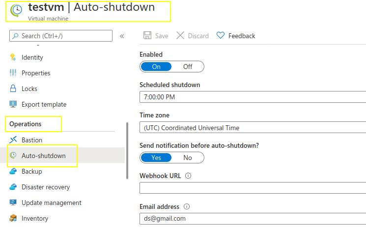 auto-shutdown-VM