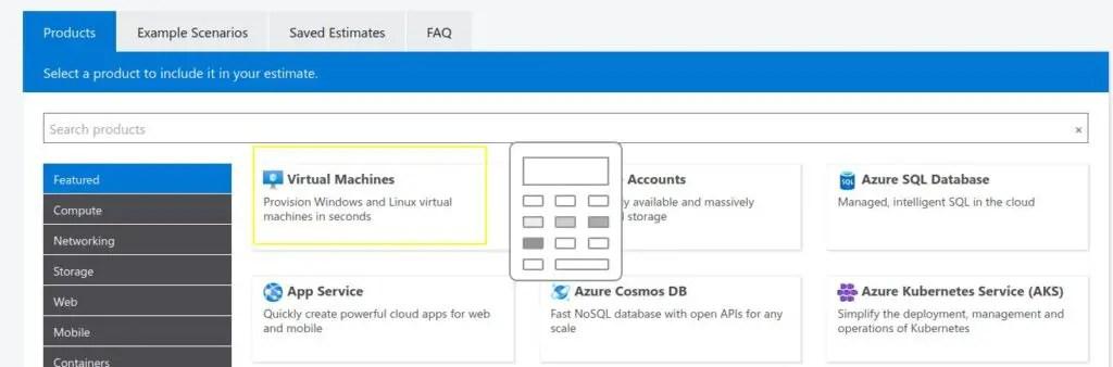 Azure-vm-pricing-calculator