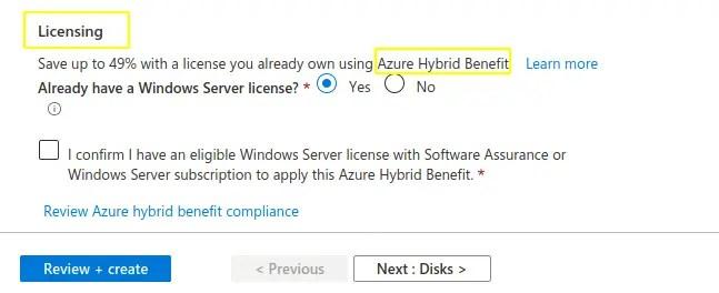 Azure-hybrid-benefit-reduce-azure-pricing-option
