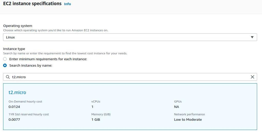EC2-instance-specifications