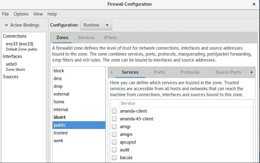 firewall-config-gui-centos8